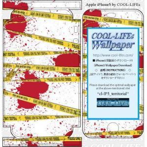 iPhone アイホン アイフォン 5 スキン シール  カバー COOL-LIFEsデザイン日本製 terriorial|cool-lifes