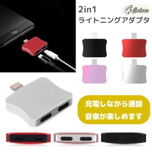 iPhone 2in1 イヤホン 変換 アダプタ 通信 音楽 充電  iPhone 11 Pro  iPhone 11 Pro Max iPhone XS iPhone XS Max iPhoneX 送料無料|cool-north