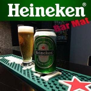 バーマット カウンター Bar Mat Heineken ハイネケン グラス置き/キッチン雑貨 coolbiker-second