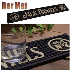 バーマット カウンター Bar Mat JACK DANIELS (ジャック・ダニエル) グラス置き/キッチン雑貨 coolbiker-second
