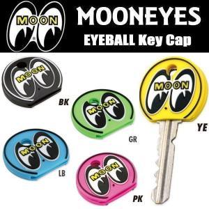 ムーンアイズ MOONEYES アイボール キーキャップ EYEBALL Key Cap ブラック/イエロー/グリーン/ピンク|coolbiker-second