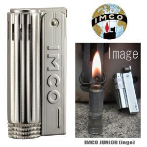 イムコ・ジュニア ロゴ付 IMCO JUNIOR 6600P フリントライター オイルライター|coolbiker-second