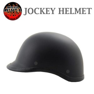 【装飾用ヘルメット】US JOCKEY HALF HELMET ジョッキー ハーフヘルメット MBK(マットブラック)|coolbiker-second
