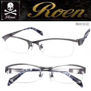 ROEN ロエン スカル サングラス チタン製 RN-6115-C2|coolbiker-second