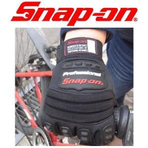 手袋 グローブ バイク 自転車 Snap On スナップオン メカニックグローブ BLACK coolbiker-second