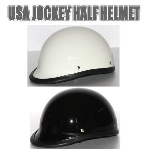 【装飾用ヘルメット】USA JOCKEY HALF HELMET USAジョッキーヘルメット|coolbiker-second