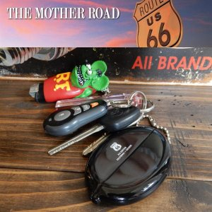 Route66 ルート66 RUBBER COIN CASE ラバーコインケースキーチェーン|coolbikers
