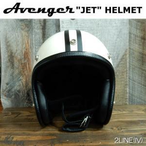2LINE ジェットヘルメット AVENGER HELMETS アベンジャーヘルメット SG規格(全排気量) ビンテージモデル スモールジェッペル GLOSS/IVORY coolbikers