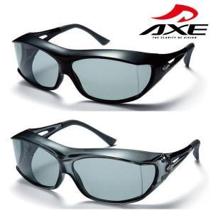 【2カラー】AXE アックス 偏光 オーバーグラス オーバーサングラス 眼鏡の上から SG-605P|coolbikers