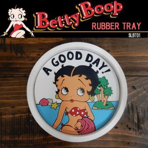 BETTY BOOP ベティ・ブープ RUBBER TRAY 小物入 ラバー素材のマルチトレイ (SLBT01) coolbikers