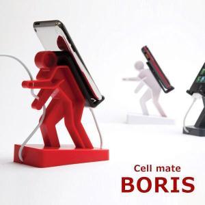 スマートフォン スタンド iPhone iPhone5/6/7 BORIS ボリスフォンスタンド 携帯電話 スマホ|coolbikers