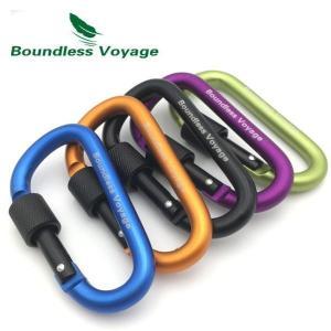 訳あり処分 SALL 特価セール Boundless Voyage カラビナ ネジロック機能付き Carabiner キャンプ テント タープ 脱落防止|coolbikers
