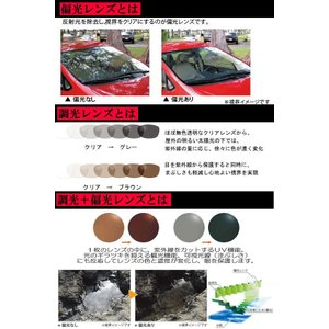 【令和/新年号記念】調光偏光サングラス 色が変わる Polarized ゴーグル COOLBIKERS 2WAY クールバイカーズ CB1-888 (CB2-777) スペシャル coolbikers 05