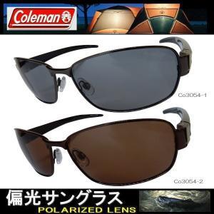 Coleman コールマン 偏光サングラス Co3054 ( 3054-1/SM 3054-2/BR)非売品ステッカープレゼント coolbikers