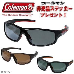 【3カラー】偏光サングラス Coleman コールマン アウトドア サングラス Co3077|coolbikers