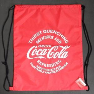 コカ・コーラ Coca-Cola COKE ランドリーバッグ ジムサック・ナップサック スポーツ・フィットネスバッグ|coolbikers