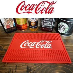 コカ・コーラ コーク COKE Rubber Mat (SQUARE) PJ-RM02 Bar Mat グラス置き/キッチン雑貨 四角形|coolbikers