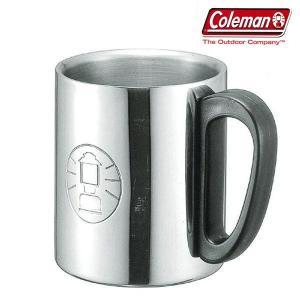 COLEMAN (コールマン) 二重マグカップ キャンプ DOUBLE STAINLESS MUG ダブルステンレスマグ 300ml 170A5023|coolbikers