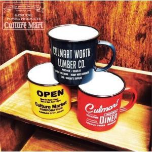 ENAMEL CUP アンティーク ホーロー製コップ マグカップ|coolbikers