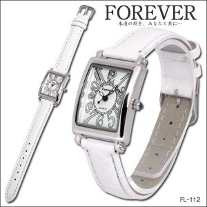 Forever フォーエバー レディースウォッチ 腕時計 FL-112-WH|coolbikers