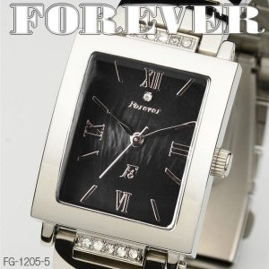 FOREVER フォーエバー メンズウォッチ 天然シェル&天然ダイヤ 4年電池 FG1205-5|coolbikers