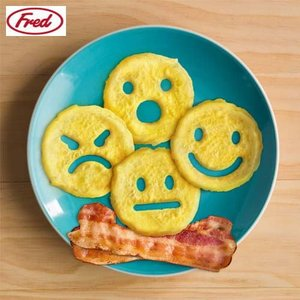 FRED フレッド クッキングモールド エモジー CRACK-A-SMILE スマイル 玉子焼き coolbikers