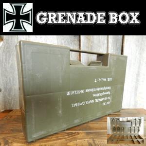 ドイツBW グレネードケース GRENADE BOX 手榴弾 プラスチック ミリタリー 工具入れに (本物中古)|coolbikers