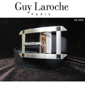 Guylaroche ギラロッシュ 本革ベルト 紳士 ブラック 大型バックル GL005|coolbikers