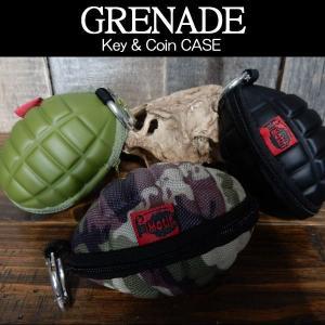 手榴弾型 キーケース コインケース 財布 メンズ Motif ハンドグレネード型 GRENADE Key & Coin CASE|coolbikers