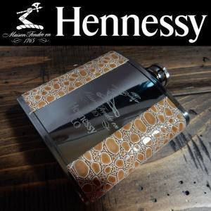 Hennessy ヘネシー スキットル ヒップフラスコ ウイスキーボトル フラスクボトル 6オンス(177ml)|coolbikers