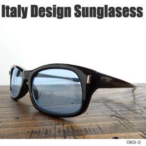 サングラス 黒縁メガネ 伊達めがね Italy Design イタリーデザイン サムクロ ジャックス 063-2|coolbikers