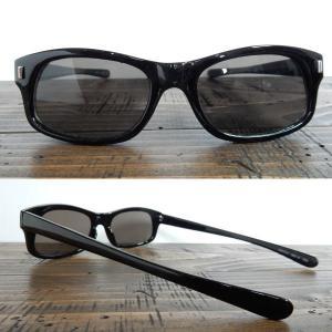 サングラス 黒縁メガネ 伊達めがね Italy Design イタリーデザイン サムクロ ジャックス 063-3|coolbikers|02