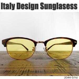サングラス 伊達めがね Italy Design イタリーデザイン ウェリントン ITALY-2044-5|coolbikers