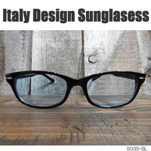サングラス 黒縁メガネ 伊達めがね Italy Design イタリーデザイン サムクロ ジャックス 5035-BL|coolbikers