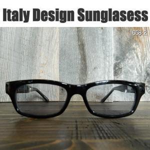サングラス 黒縁メガネ 伊達めがね Italy Design イタリーデザイン サムクロ ジャックス 658-2|coolbikers