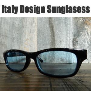 サングラス 黒縁メガネ 伊達めがね Italy Design イタリーデザイン サムクロ ジャックス 658-3|coolbikers