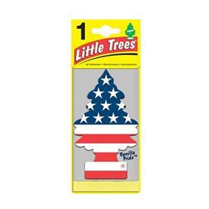 リトルツリー LittleTree エアフレッシュナー VANILLA スターズ・アンド・ストライプス 芳香剤 バニラプライド|coolbikers
