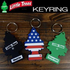 リトルツリー LittleTree  PVC キーリング オフィシャル グッズ キーホルダー ブラックアイス/スターズ&ストライプス/グリーンシンボル|coolbikers
