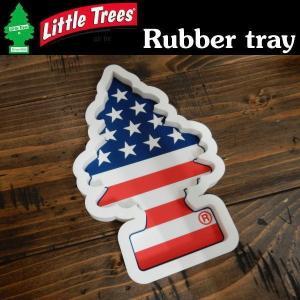 リトルツリー LittleTree ラバートレイ Rubber tray スターズ&ストライプス LT-KC-RT-003|coolbikers