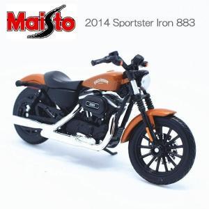 マイスト ハーレー ダビッドソン Maisto 1/18 Harley Davidson オートバイ Motorcycle スポーツスター 2014 Sportster Iron 883|coolbikers
