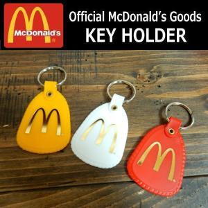 マクドナルド キーホルダー オフィシャル 公式 Official McDonald's Goods KEY HOLDER マック マクド レッド/ホワイト