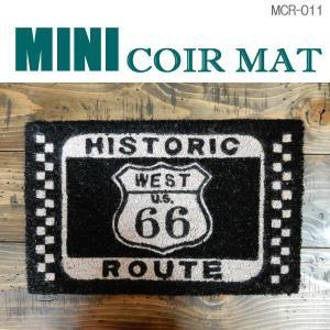 玄関マット ミニ コイヤーマット MINI-COIR-MAT アメリカン 雑貨 西海岸スタイル 屋外 室内 MCR-011|coolbikers