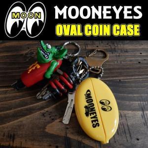 ムーンアイズ MOONEYES OVAL COIN CASE ラバー製 オーバル 小銭入れ コインケース MG462YE coolbikers