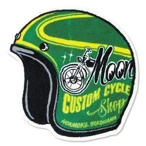MOONEYES Floor Mats Helmet ムーンアイズ フロア マット ヘルメット|coolbikers
