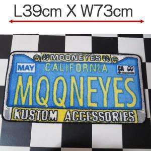 ムーンアイズ MOONEYES  インテリアマット License Frame ライセンス フレーム フロアー 玄関マット MG458LF|coolbikers
