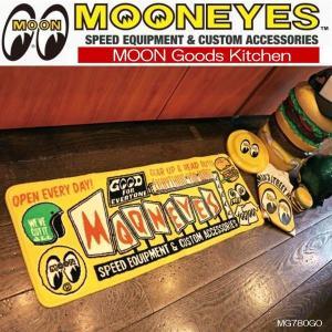 ムーンアイズ MOONEYES  キッチンマット インテリアマット フロアー 玄関マット Goods Kitchen  [MG780GO]|coolbikers