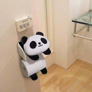 トイレ ペーパーホルダーカバー パンダ ロールペーパーホルダー 大熊猫 トイレ/便所用品 coolbikers