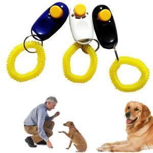 ペットクリッカー トレーニング スマート・クリッカー セーフ ペット訓練用 しつけ用品 ペット用品 犬笛 ホイッスル|coolbikers