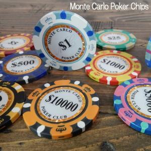 モンテカルロ 13.5g ポーカーチップ Monte Carlo Poker Chips シブコ ゴルフマーカー 10枚セット|coolbikers