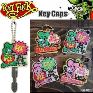 Rat Fink ラットフィンク 鍵ケース キーキャップ Key Caps RAF463 2個セット|coolbikers